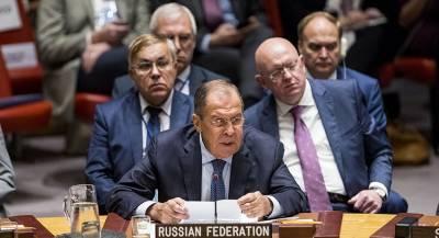 Украина предложила исключить Россию из Совбеза ООН