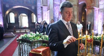 Порошенко грозит отлучение от церкви после слов про аннексию
