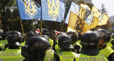 Марш националистов в Киеве завершился рекордом Гиннесса