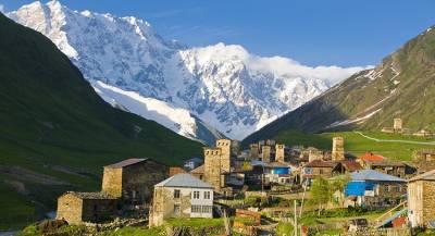 Снег помешал избирателям высокогорных сёл Грузии