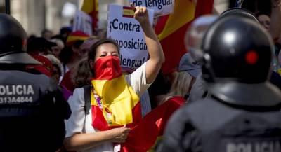 В Каталонии перекрыли дороги в годовщину референдума