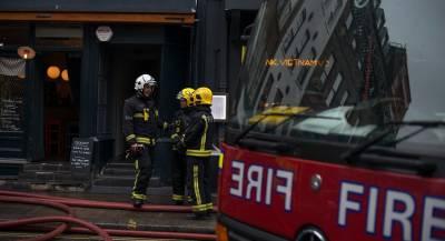 На северо-западе Лондона прогремел взрыв