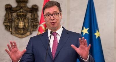 Вучич: решение вопроса Косово невозможно без России