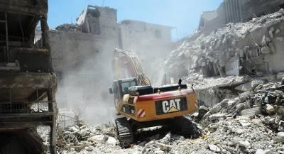 России грозят санкции США за восстановление Сирии