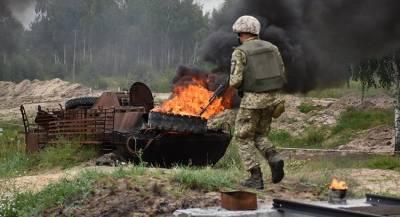 Украинский военный подорвался на собственной мине