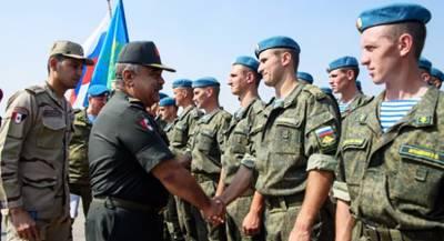 Десантники России и Египта «уничтожили террористов»