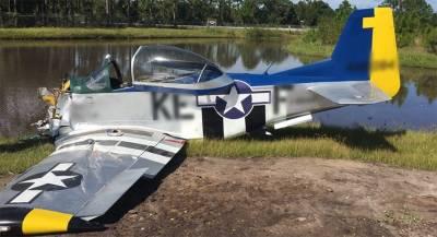 Легкомоторный самолёт упал во Флориде