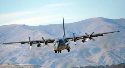 В Афганистане разбился самолёт ВВС США