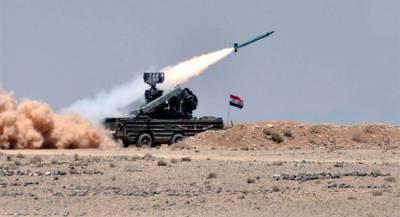ПВО Сирии сбили треть израильских ракет