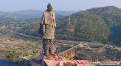 Самую высокую в мире статую открыли в Индии