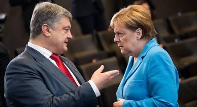 Порошенко и Меркель обсудили продление санкций против РФ