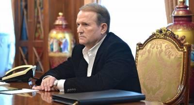 Радикалы разгромили офис Медведчука в Киеве