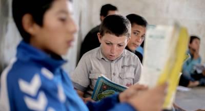 В Идлибе восстанавливают разрушенные боевиками школы