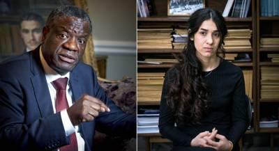 Борцы с сексуальным насилием получили Нобелевскую премию