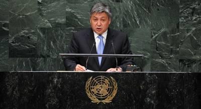 Глава МИД Киргизии Абдылдаев подал в отставку