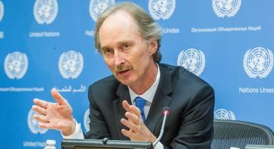 Норвежец Педерсен стал спецпосланником ООН по Сирии