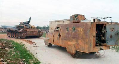 На севере Сирии отразили вылазку террористов