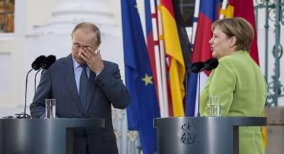 Меркель спросила Путина про его «сибирское пальто»