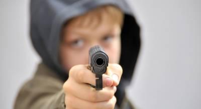 Шутка с пистолетом довела школьника до тюрьмы