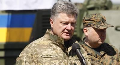 Президент Украины призвал чаще открывать огонь в Донбассе