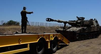 Израиль развертывает танки на границе с Ливаном
