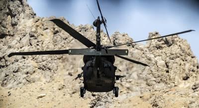 Чиновники погибли при крушении вертолёта в Афганистане