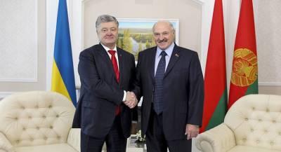 Лидеры Украины и Белоруссии встретились в Гомеле