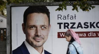 Exit poll: мэром Варшавы стал оппозиционер Тшасковский