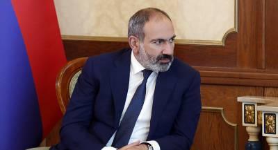 Премьер Армении Пашинян ушёл в отставку