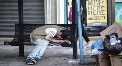 Венгрия запретила бездомным ночевать на улице