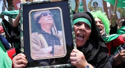 Мёртвого Каддафи ограбили в Бельгии