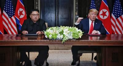 Трамп заявил о своём доверии Ким Чен Ыну