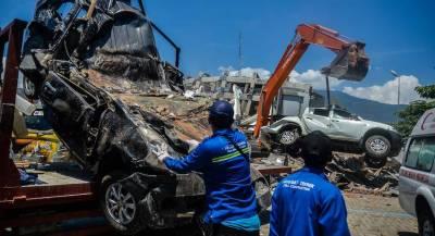 У побережья Индонезии произошло новое землетрясение
