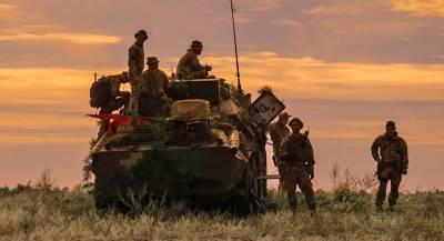 Украина заявила об очередных обстрелах в Донбассе