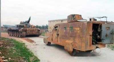 Боевики в Идлибе частично отвели вооружение