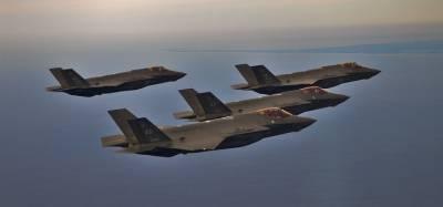 Пентагон запретил полеты F-35