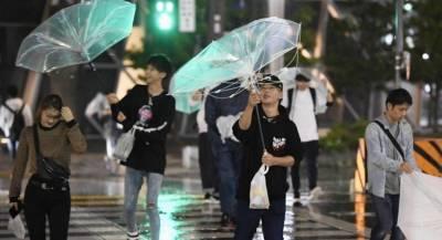На Японию надвигается тайфун «Конг-рэй»