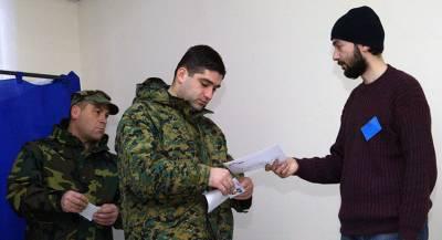 Грузинский избиратель отдал голос царю Давиду