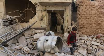 Мирные жители погибли при ударе коалиции по Сирии