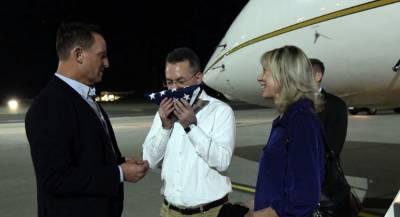 Освобождённый пастор Брансон летит на встречу с Трампом