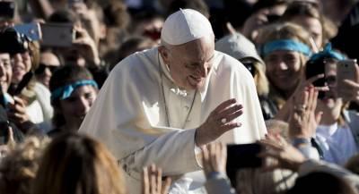 Папа римский извинился перед молодёжью