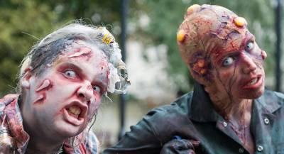 Зомби заполонили улицы Сантьяго