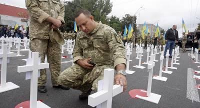 Украинцы массово уклоняются от призыв из-за Донбасса