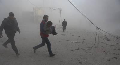 Десятки человек погибли при ударах коалиции по Сирии