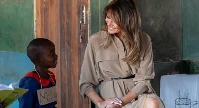 Меланья Трамп объяснила провокационную фразу на куртке