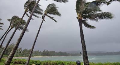 Ураган смыл остров на Гавайях