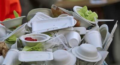 В Евросоюзе запретят одноразовую посуду