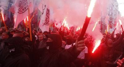 Радикалы напали на женщину с ребёнком-инвалидом в Киеве