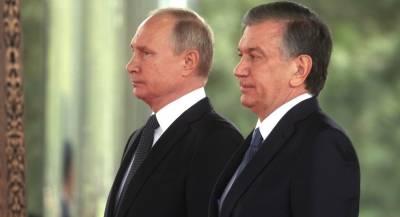 Путин и Мирзиёев дали старт проекту узбекской АЭС