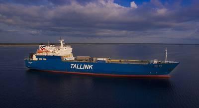 Пассажирский паром потерял управление в Балтийском море